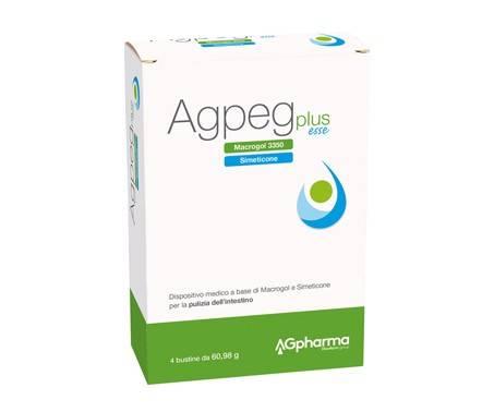 Agpeg Plus Esse Integratore Lassativo 4 Bustine