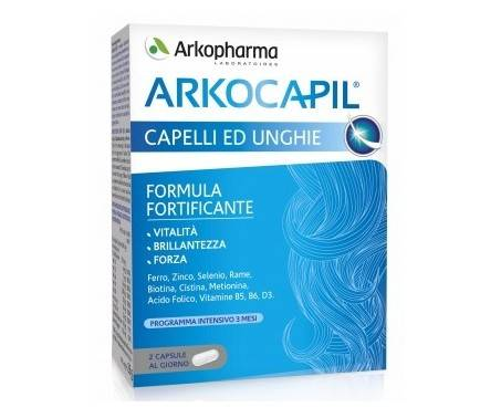 Arkocapil Pack Integratore Unghie e Capelli 2x60 Capsule