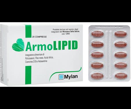 ArmoLIPID - Integratore per ridurre i livelli di colesterolo - 20 Compresse