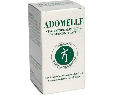 Adomelle - Integratore di Fermenti Lattici - 30 Capsule