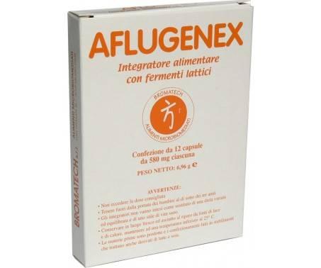 Aflugenex - Integratore di Fermenti Lattici - 12 Capsule