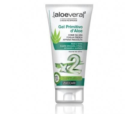 Zuccari AloeVera2 Gel Primitivo d'Aloe Idratante Lenitivo 150 ml