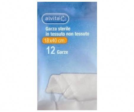 Alvita Garza Sterile 18x40 cm 12 Pezzi