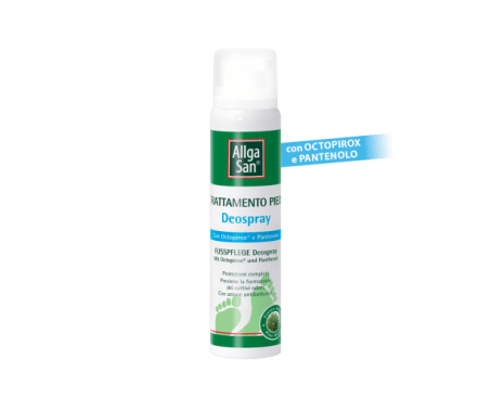 Allgasan Spray Deodorante Per Piedi 100 ml