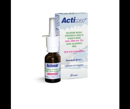 Actimar Spray Nasale Soluzione Ipertonica 20ml