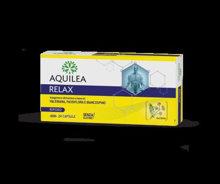Aquilea Relax Integratore Benessere Mentale 24 Capsule