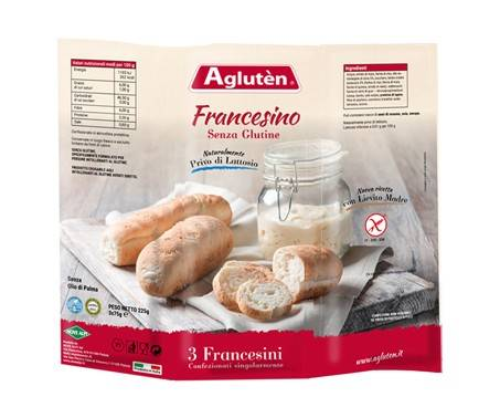 Agluten Pane Francesino Senza Glutine 225g