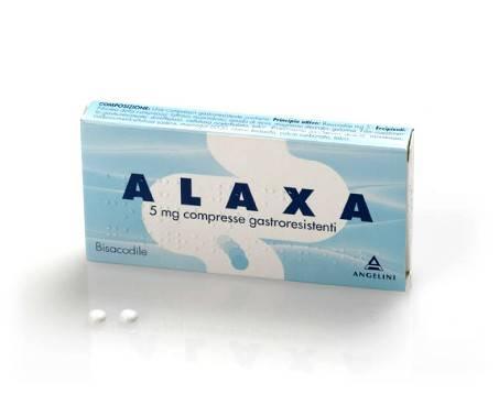 Alaxa - 20 compresse gastroresistenti - 5 mg