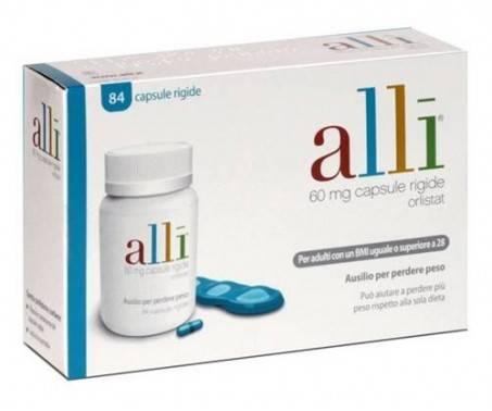 Alli - Per Perdere Peso - 84 Capsule Rigide - 60 mg