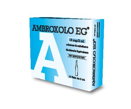Ambroxolo EG - Soluzione da nebulizzare -15 mg/2 ml - 10 fiale