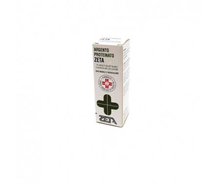 Argento Proteinato Zeta 1% Gocce Naali e Auricolari 10 ml