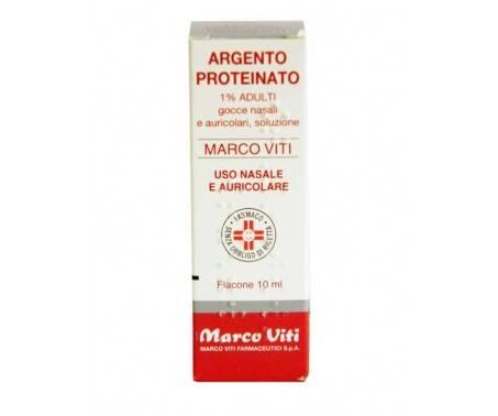 Argento Proteinato Marco Viti 1% Adulti Decongestionante Gocce 10 Ml