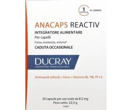 Ducray Anacaps Reactiv Integratore Anticaduta Capelli E Unghie 30 Capsule