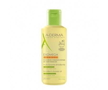 A-Derma Exomega Control Olio Lavante Viso e Corpo Pelle Secca 200 ml