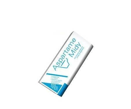 Aspartame Midy - Dolcificante alimentare - 500 compresse