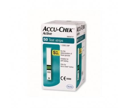 Accu-Chek Active Strisce Reattive Controllo Glicemia 50 Pz