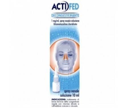 Actifed Decongestionante Spray Nasale - 1mg/1ml 10 mL
