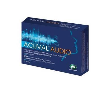 Acuval Audio - Integratore per l'udito - 14 Bustine