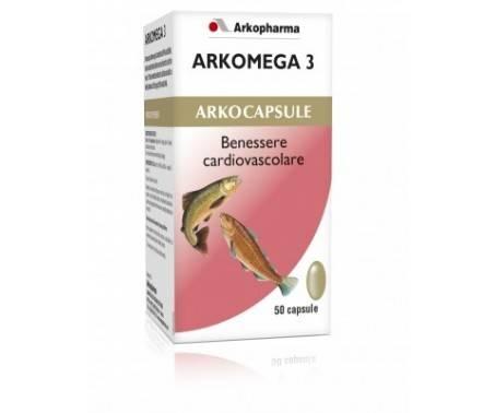 Arkocapsule Arkomega 3 - Integratore per il benessere cardiovascolare - 50 capsule