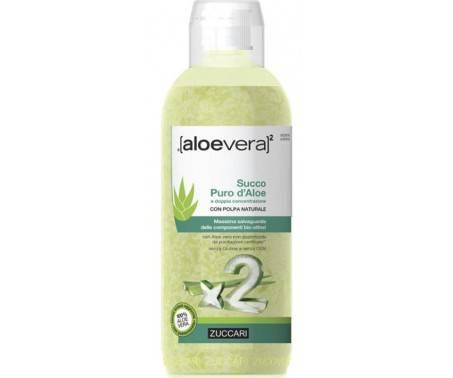 ZUCCARI Aloe Vera 2 Succo Concentrato di Aloe Flacone 1000mL