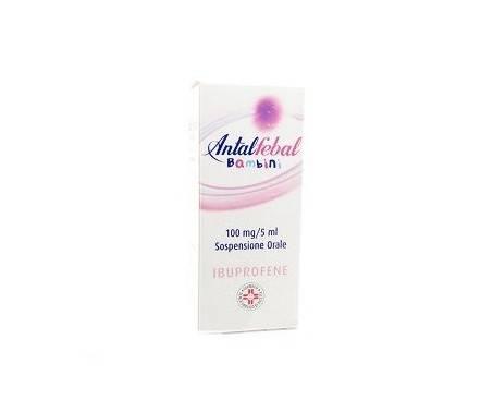 Antalfebal Bambini 100mg/5ml Ibuprofene Sospensione Orale 100 ml