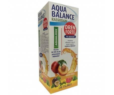 Dietalinea Aqua Balance Rassodan Urto 500ml gusto pesca + potenziatore Aqualoss bustina