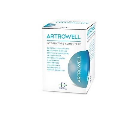 Artrowell Integratore Per la Cartilagine 60 Capsule