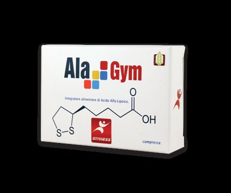 Alagym Acido Alpa Lipoico Integratore 60 Capsule scadenza novembre 21