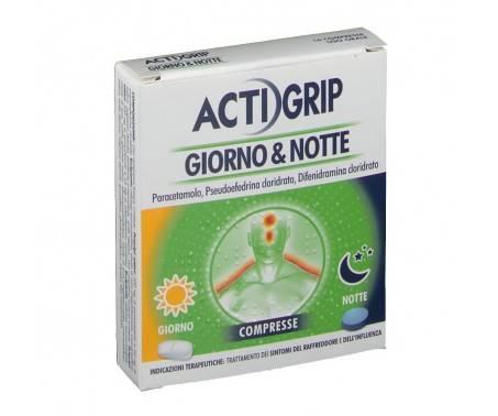 Actigrip Giorno & Notte - 12+4 compresse