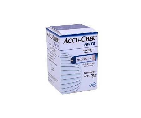 Accu-Chek Aviva Strisce Reattive Controllo Glicemia 50 Pz
