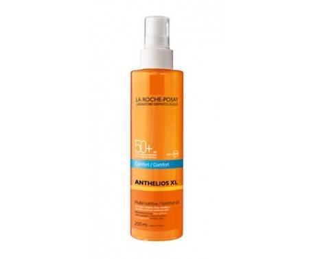 La Roche Posay Anthelios XL Olio Nutriente Invisibile Comfort SPF 50+ Protezione Viso Corpo 200 ml